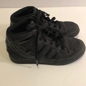 Kids Adidas Ortholite High Top sneakers size 2
